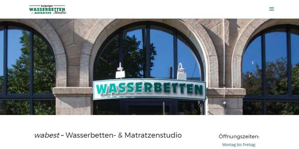 Wasserbetten in Leipzig