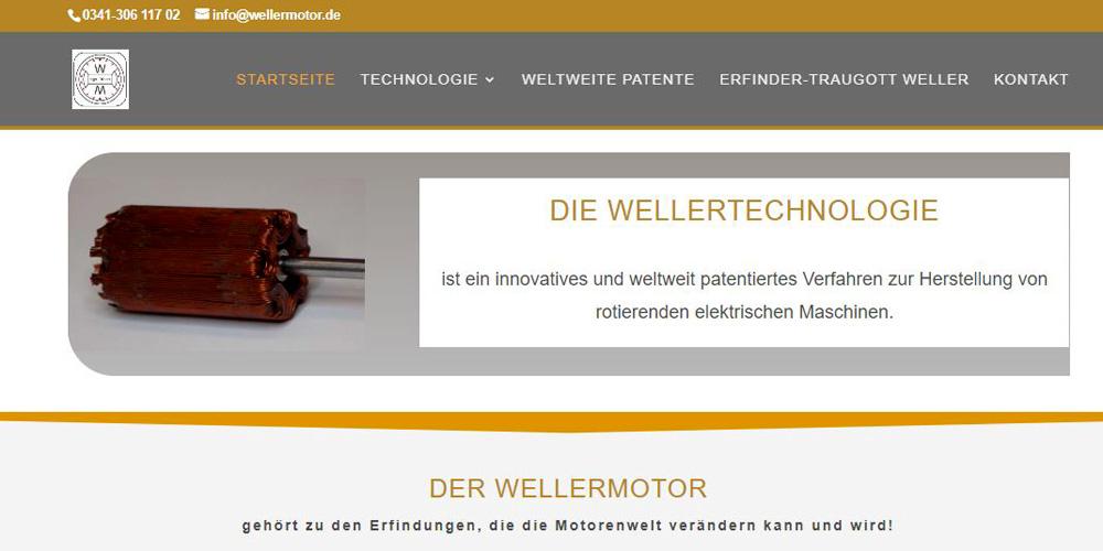 Das Patent Wellermotor